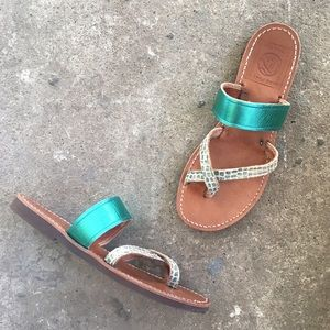 🆕 Listing!  Melissinos   'Doric' Sandals